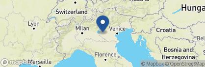 Map of Due Torri Hotel, Italy