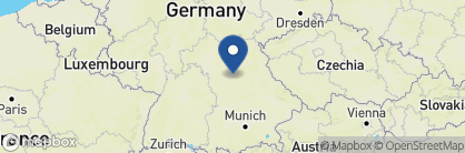 Map of Melter Hotel, Germany