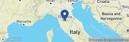 Map of Villa Il Poggiale, Tuscany