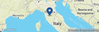 Map of COMO Castello del Nero, Tuscany