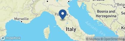 Map of Le Pozze di Lecchi, Tuscany