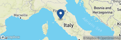 Map of Rosewood Castiglion del Bosco, Tuscany