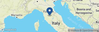 Map of Badia a Coltibuono, Tuscany