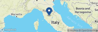 Map of Borgo San Felice, Tuscany