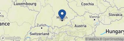 Map of Bayerischer Hof, Germany