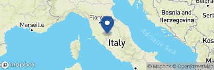 Map of Monteverdi, Tuscany