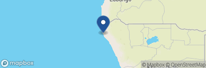 Map of Kunene Camp, Namibia