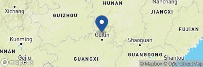 Map of Longji One, China
