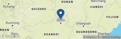 Map of Li-An Lodge, China