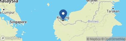 Map of Ranee Boutique Suites, Borneo