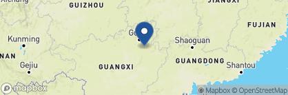 Map of Li River Resort, China