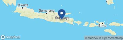 Map of Tugu Malang, Indonesia