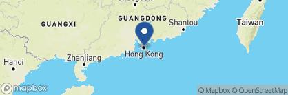 Map of The Peninsula, China