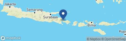 Map of Naya Gawana Resort and Spa, Indonesia
