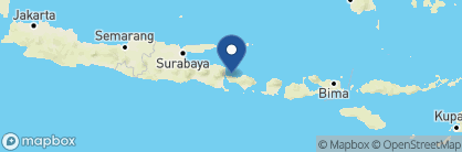Map of Taman Sari Cottages, Indonesia