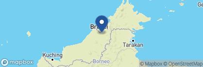 Map of Mulu Park Chalets, Borneo