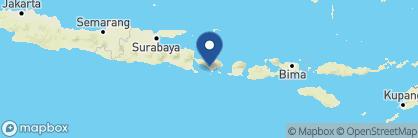Map of Waka Gangga, Indonesia