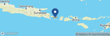Map of The Chedi Club at Tanah Gajah, Indonesia