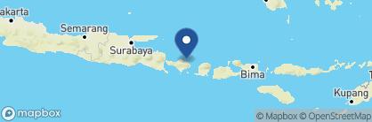 Map of Spa Village Resort Tembok Bali, Indonesia