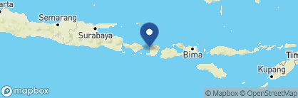 Map of Qunci Villas, Indonesia