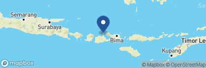 Map of Amanwana, Indonesia