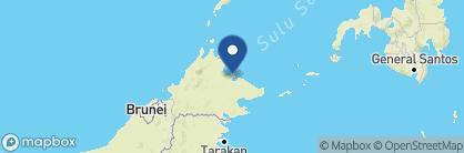 Map of Sepilok Nature Resort, Borneo