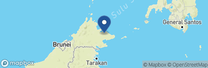 Map of Sukau Rainforest Lodge, Borneo