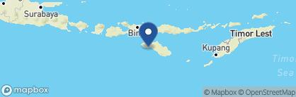 Map of Nihi Sumba Island, Indonesia