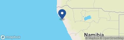 Map of Shipwreck Lodge, Namibia