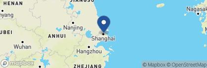 Map of Les Suites Orient, China