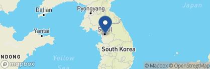Map of Hotel 28 Myeongdong, South Korea
