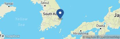 Map of Hilton Gyeongju, South Korea