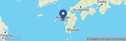 Map of Monterey Hotel, Japan