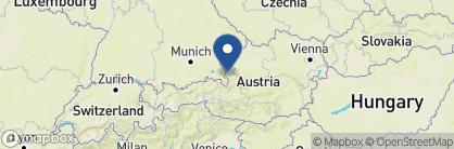 Map of Hotel Schloss Mönchstein, Austria