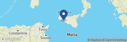 Map of Verdura Resort, Italy