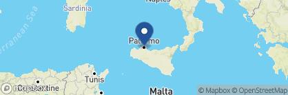 Map of Hotel Plaza Opera, Italy