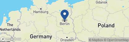 Map of Hotel Adlon Kempinski, Germany