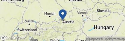 Map of Hotel Seevilla, Austria