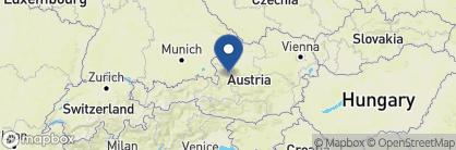 Map of Romantik Hotel Im Weissen Rössl, Austria