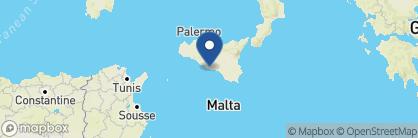 Map of Mandranova, Italy
