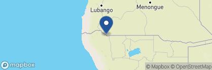 Map of Kunene River Lodge, Namibia