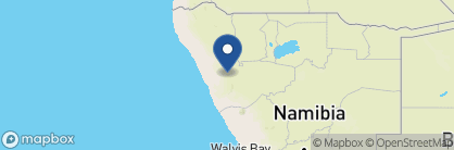 Map of Etendeka Mountain Camp, Namibia