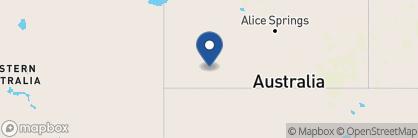 Map of Sails in the Desert, Australia
