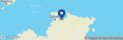 Map of Bamurru Plains Lodge, Australia