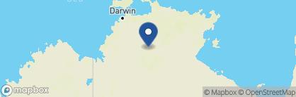 Map of Cicada Lodge, Australia