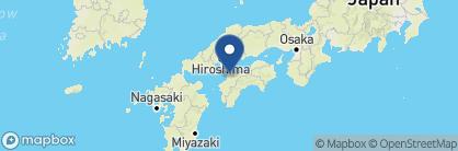Map of The Dogo Tsubaki Kan, Japan