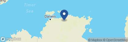 Map of Mercure Kakadu Crocodile Hotel, Australia