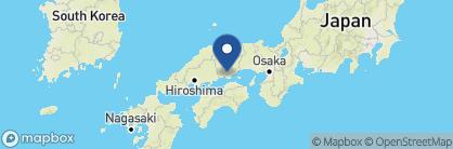 Map of The Ryokan Kurashiki, Japan