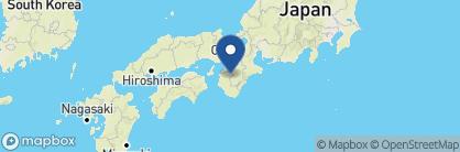 Map of Tentoku-in Shukubo, Japan