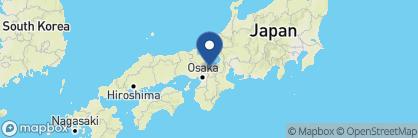 Map of Yoshikawa Ryokan, Japan